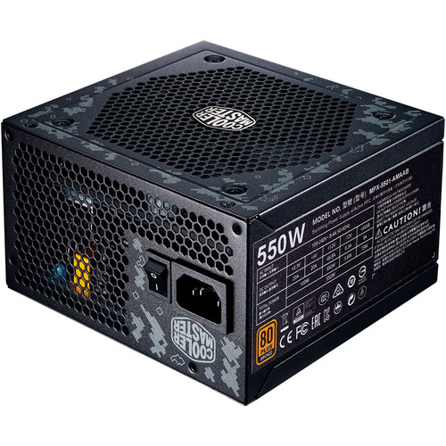 Cooler Master MasterWatt 550 TUF Gaming Edition, 550W