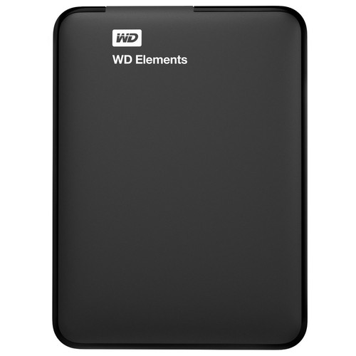 Western Digital Elements, 3 To, Noir