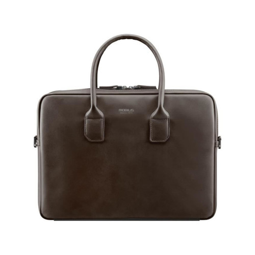 Mobilis case - Briefcase - Sacoche - Marron - 11-14""