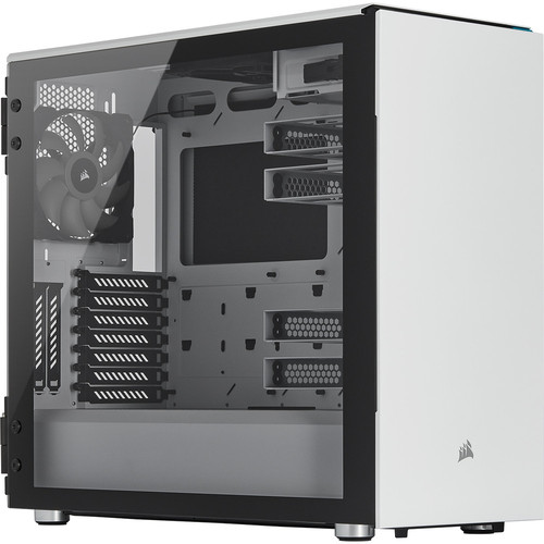 Corsair Carbide 678C Tempered Glass, Blanc