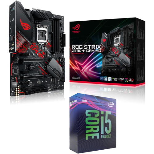 Intel Core i5 9600K (3.7 GHz) + Asus ROG STRIX Z390-H GAMING