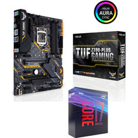 Vente flash exceptionnelle sur Intel Core i7 9700K (3.6 GHz) + Asus TUF Z390-PLUS GAMING