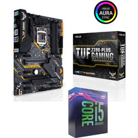 Vente flash exceptionnelle sur Intel Core i5 9600K (3.7 GHz) + Asus TUF Z390-PLUS GAMING