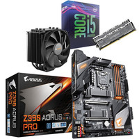 Kit d'�vo Core i5-9600K + Gigabyte Z390 AORUS PRO + Dark Rock 4 + 16 Go