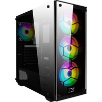 Xigmatek Venom X RGB Tempered Glass - Noir