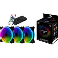 Xigmatek Galaxy II Elite AY120, 120 mm (pack de 3)