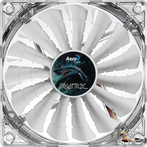 Aerocool Shark, 120mm (LED Blanches)