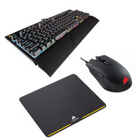 Corsair Strafe RGB (MX Silent)(AZERTY) + Harpoon RGB + MM200 Compact