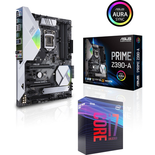 Intel Core i7 9700K (3.6 GHz) + Asus PRIME Z390-A