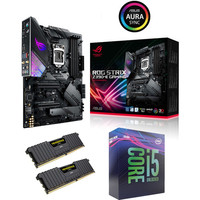 Kit �vo Core i5-9600K + Asus ROG STRIX Z390-E GAMING + 16 Go