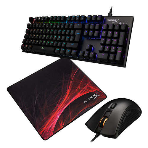 HyperX Alloy FPS RGB + Pulsefire FPS Pro RGB + FURY S Speed Edition L