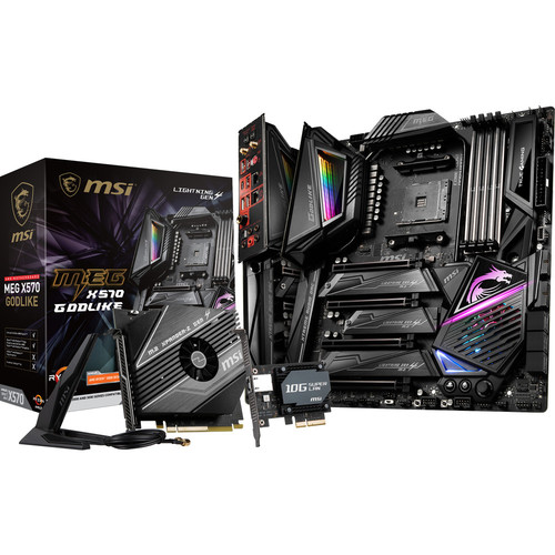MSI MEG X570 GODLIKE + 50 $ de coupons Steam offerts !