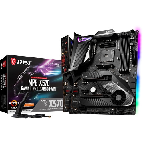 MSI MPG X570 GAMING PRO CARBON WIFI + 30 $ de coupons Steam offerts !