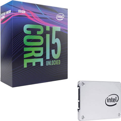 Intel Core i5-9600K (3.7 GHz) + Intel SSD 545s Series, 512 Go, SATA III