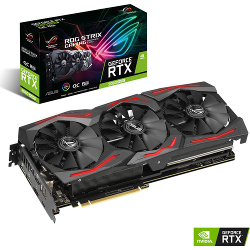 Asus GeForce RTX 2060 SUPER ROG STRIX O8G GAMING, 8 Go