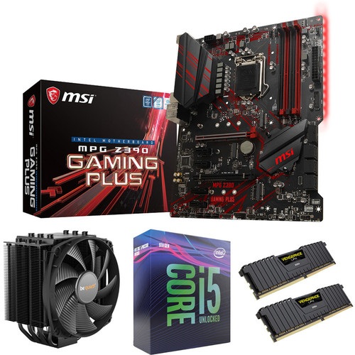 Kit évo Core i5-9600K + MSI MPG Z390 GAMING PLUS + Dark Rock 4 + 16 Go
