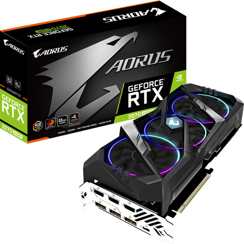 AORUS GeForce RTX 2070 SUPER 8G, 8 Go