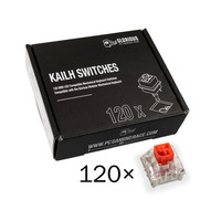 Glorious PC Gaming Race Pack de 120 switchs Kailh Box Red