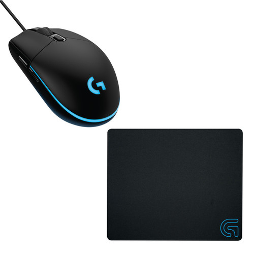 Logitech G240 Cloth Gaming Mouse Pad + G203 Prodigy Gaming Mouse