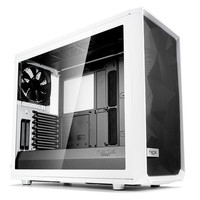 Fractal Design Meshify S2 Tempered Glass Clear White