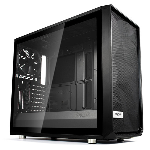 Fractal Design Meshify S2 Tempered Glass Clear - Noir