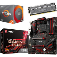 Kit �vo Ryzen 7 3700X + MSI B450 GAMING PLUS (MAJ) + 16 Go