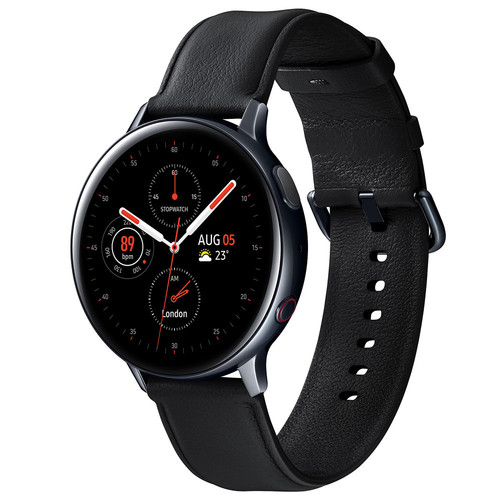 Samsung Galaxy Watch Active 2 - 40mm - Acier / Noir Diamant