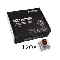 Glorious PC Gaming Race Pack de 120 switchs Kailh Box Brown