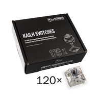 Glorious PC Gaming Race Pack de 120 switchs Kailh Box Speed Silver
