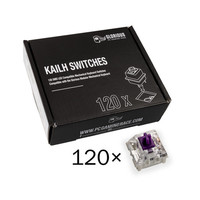 Glorious PC Gaming Race Pack de 120 switchs Kailh Pro Purple