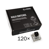 Glorious PC Gaming Race Pack de 120 switchs Kailh Box Black