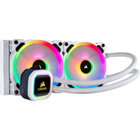 Corsair H100i RGB Platinum SE Blanc - 240 mm