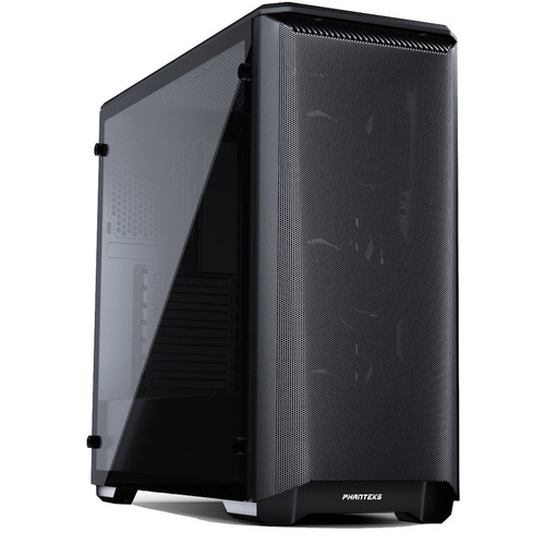 Phanteks Eclipse P400A Tempered Glass, Satin Black