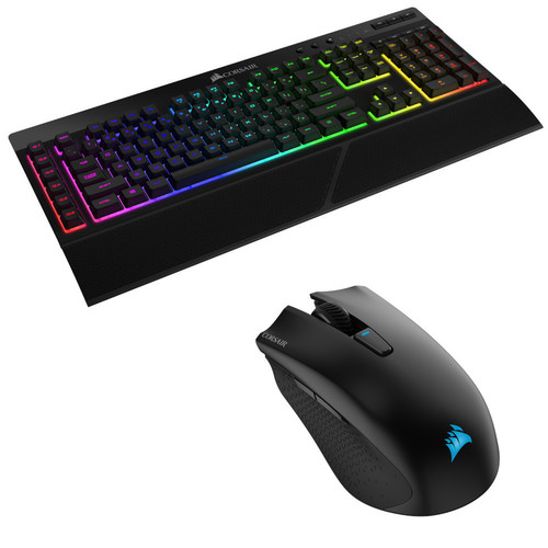 Pack Corsair K57 RGB Wireless + Souris Harpoon RGB Wireless
