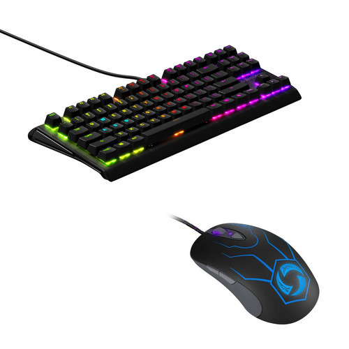 Steelseries APEX M750 TKL + Sensei Raw Heroes of The Storm Ed.