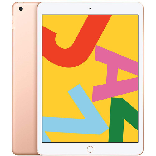 Apple iPad (2019) - 32 Go - Wi-Fi + Cellular - Or