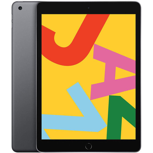 Apple iPad (2019) - 128 Go - Wi-Fi + Cellular - Gris sidéral
