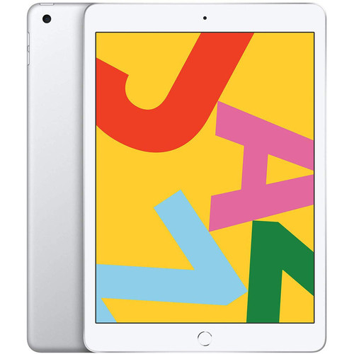 Apple iPad (2019) - 128 Go - Wi-Fi + Cellular - Argent