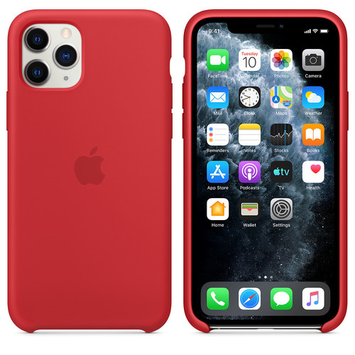 Apple Coque en silicone iPhone 11 Pro - (PRODUCT)RED