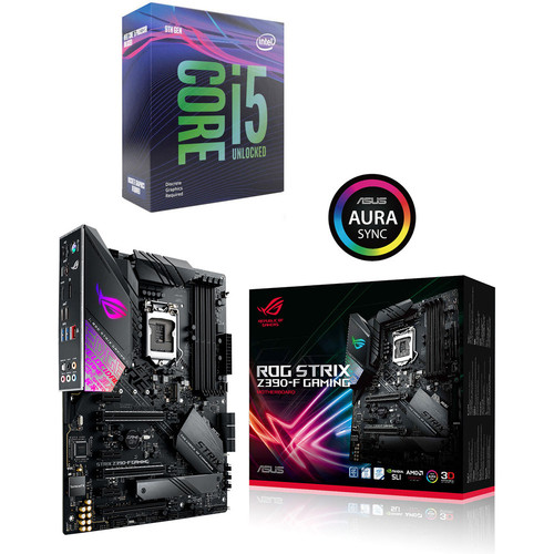 Intel Core i5-9600KF (3.7 GHz) + Asus ROG STRIX Z390-F GAMING
