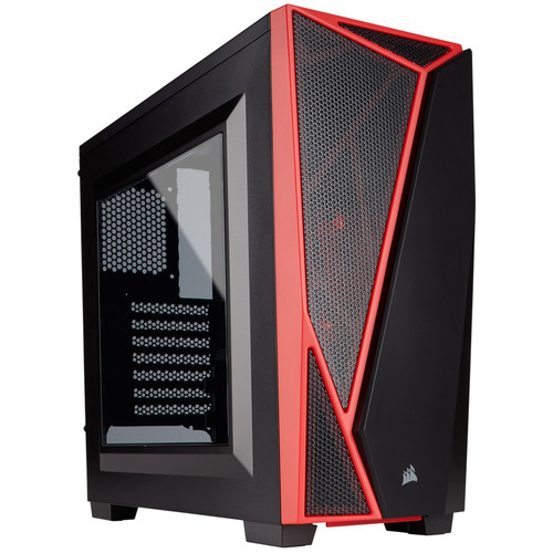 Corsair Carbide SPEC-04, Noir/Rouge