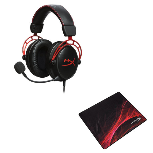HyperX Cloud Alpha + HyperX Fury S Pro L Speed Edition