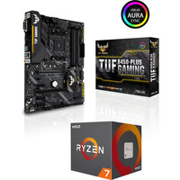 AMD Ryzen 7 2700 + Asus TUF B450-PLUS GAMING