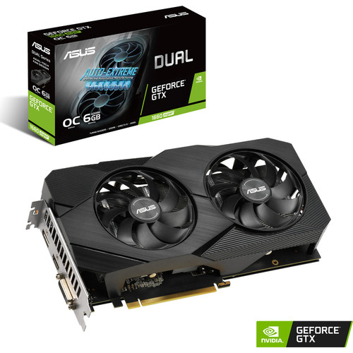 Asus GeForce GTX 1660 SUPER DUAL O6G