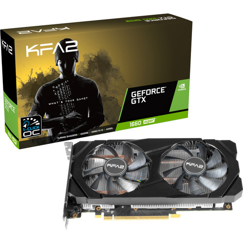 KFA2 GeForce GTX 1660 SUPER (1-Click OC), 6 Go