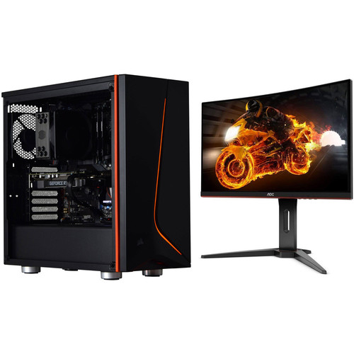 PC Gamer BATTLE ROYALE 2 (v13) - Sans OS + AOC C24G1 FreeSync (dalle incurvée) + jeu offert !