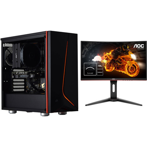 PC Gamer LITHIUM (v10) - Avec Windows + AOC C24G1 + 3 mois d'abonnement Xbox Game Pass offert !
