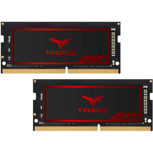 SO-DIMM DDR4 T-FORCE Vulcan - 8 Go (2 x 4 Go) 2400 MHz - CAS 15