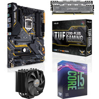 Kit �vo Core i5-9600KF + Asus TUF Z390 PLUS GAMING + Dark Rock 4 + 16 Go