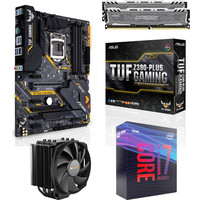 Kit �vo Core i7-9700K + Asus TUF Z390 PLUS GAMING + Dark Rock 4 + 16 Go